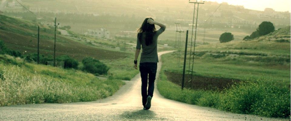 walking-down-street